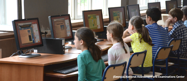 A look at the reading and electronic reading assessments in action at schools across the globe